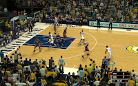 NBA 2K13 Indiana Pacers Court Patch