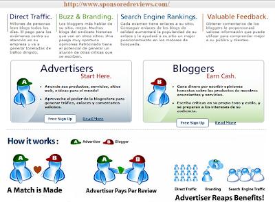 Como ganar dinero con sponsoredreview