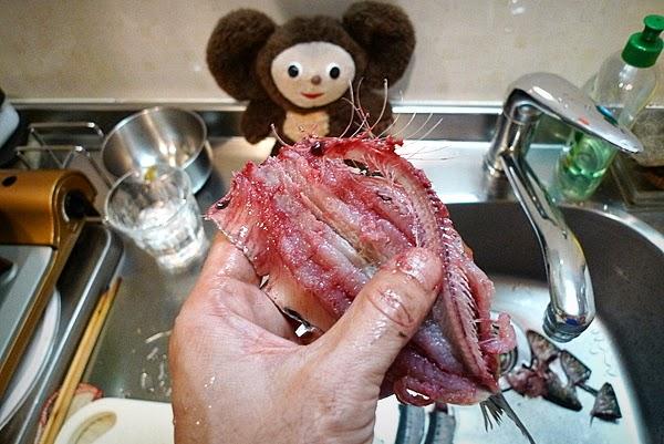 イワシ蒲焼の作り方(3)