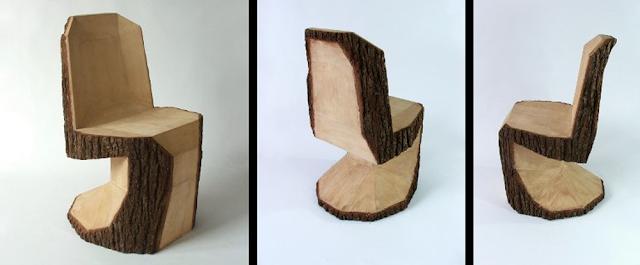 Hazlo tú mismo : Del árbol a la silla