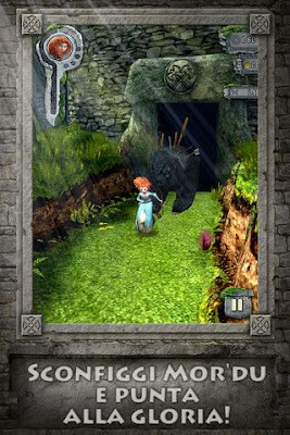 Arriva per iOS ed Android Temple Run: The Brave