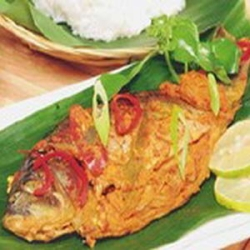 Resep Pepes Ikan Mas Bumbu Woku