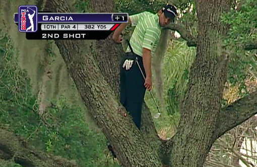 the big picture  golf a cruel game