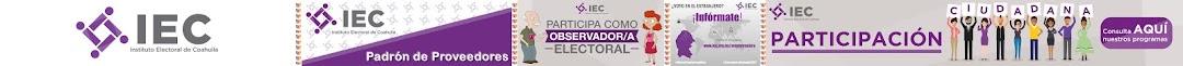 INSTITUTO ELECTORAL DE COAHUILA.