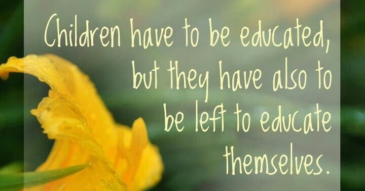 For the Love of Learning: Great Quote...