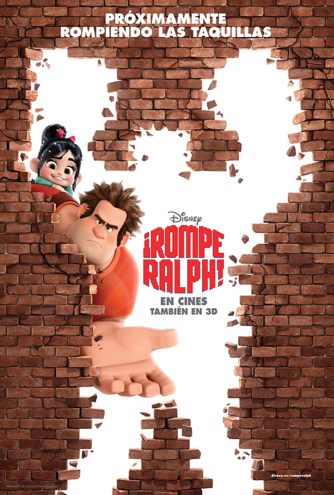 Películas #1 - ¡Rompe ralph!