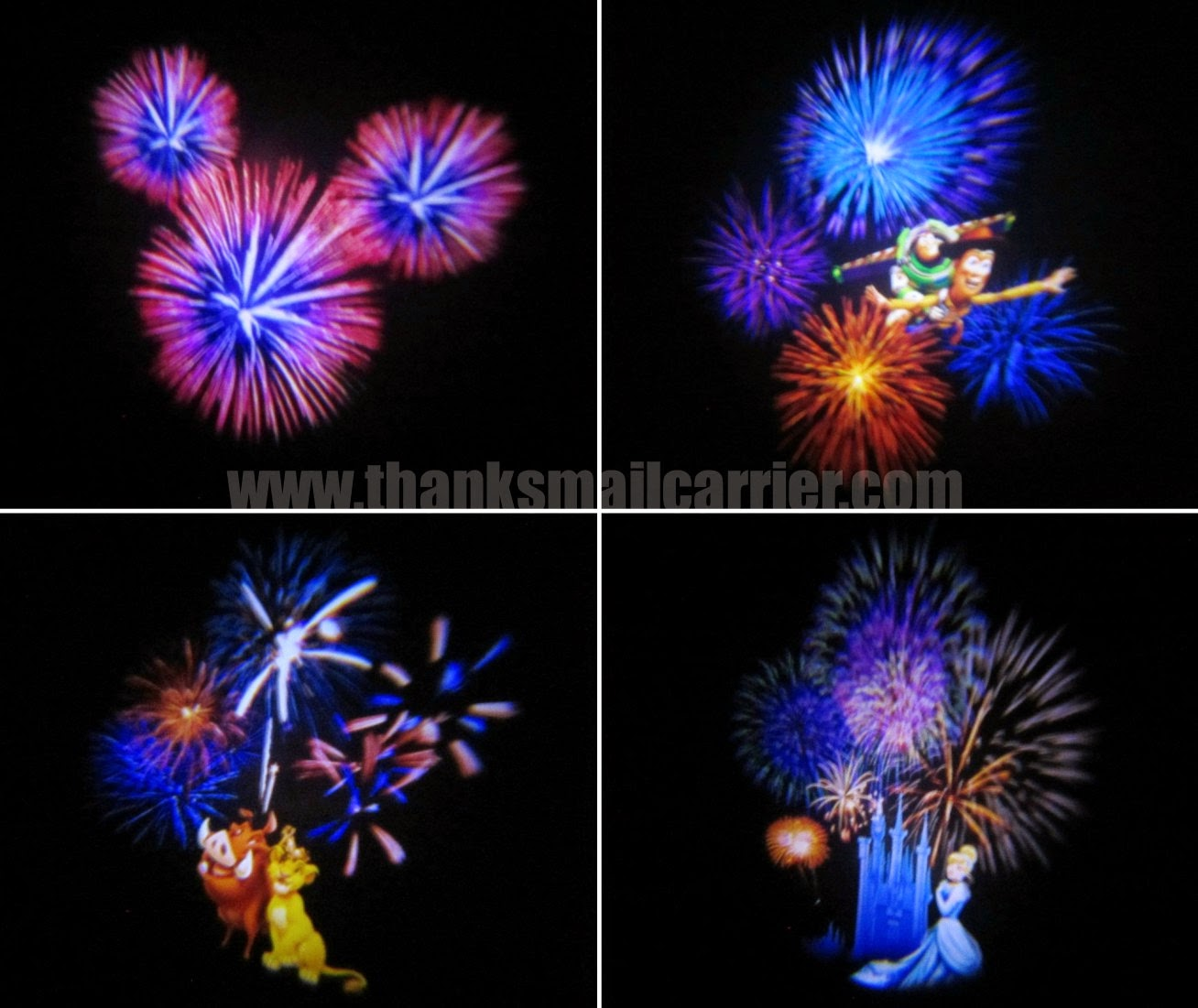 Disney fireworks toy