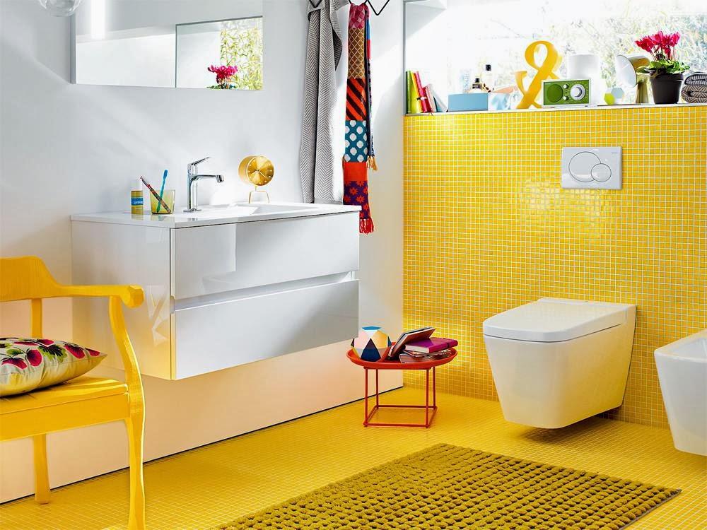 Hice Del Baño Color Amarillo:baño amarillo