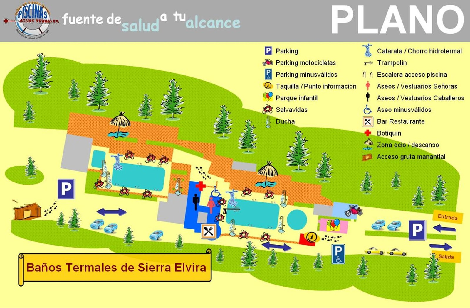Ba os termales de sierra elvira as son nuestras for Piscina sierra elvira