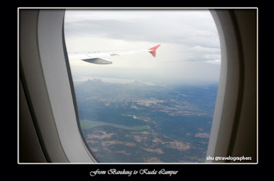 husein sastranegara, bandung, Senja, Sunset From Airplane, Air Asia, Purwakarta, Gunung Lembu, Jatiluhur