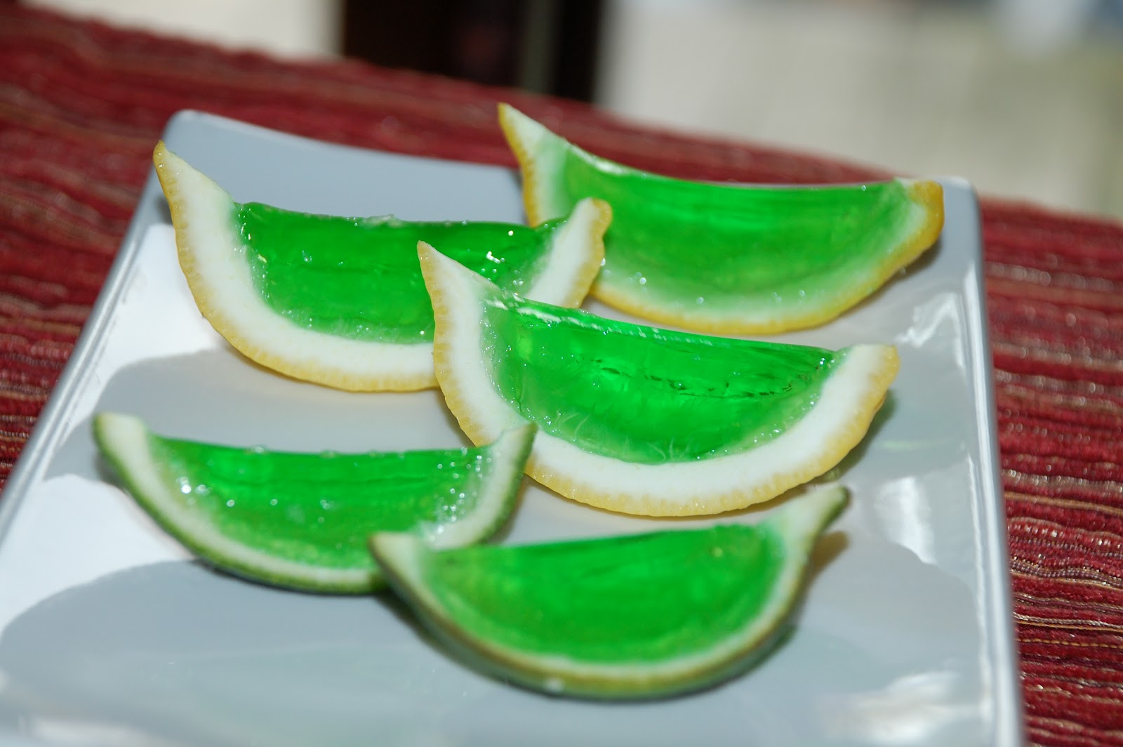 Meals, Heels, and Cocktails: Margarita Jello Shots