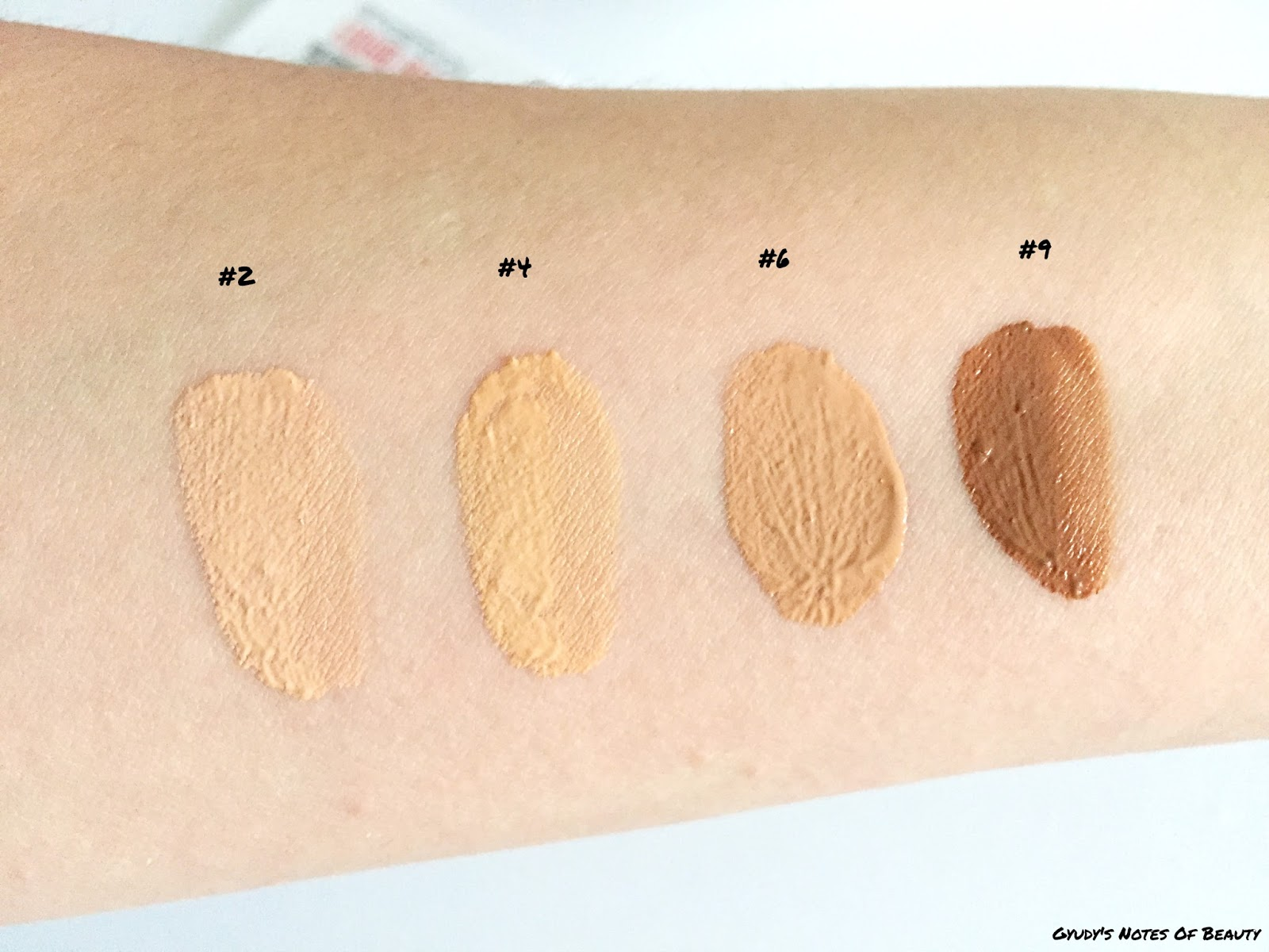 Smashbox Liquid Halo Swatches