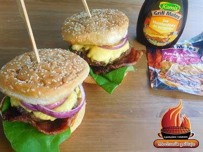 mięso wołowe hamburger grill pomysł na grilla przyprawy Kamis kreatywne grillowanie sezon na grilla