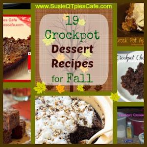 Fall Crockpot Desserts