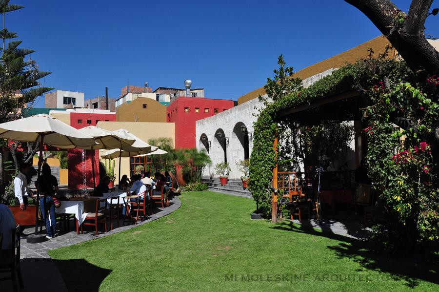 Mi moleskine arquitect nico conversando con marcello - Restaurante adrede ...