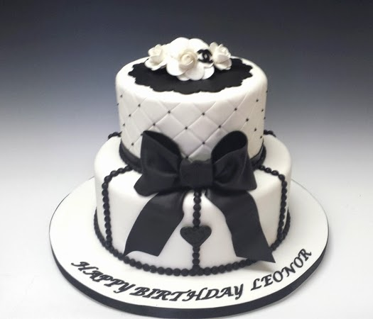 Confectionary Designs Elegant Birthday Cake
