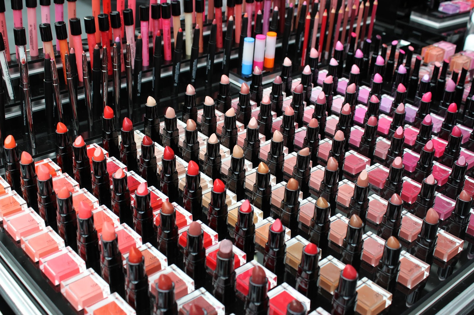 IMATS london 2014 inglot lipsticks