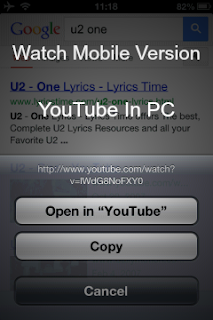 How To Watch YouTube Videos In Mobile View In Desktop PC Version