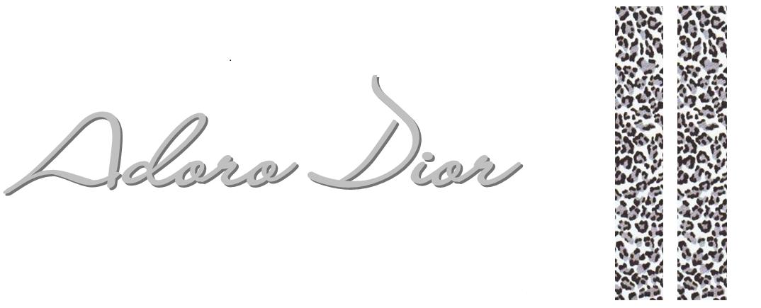 Adoro Dior - Seja Bem vindo