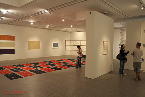 Ruark Lewis 'Survey' show 2012 - Hazelhurst Gallery - gallery view.