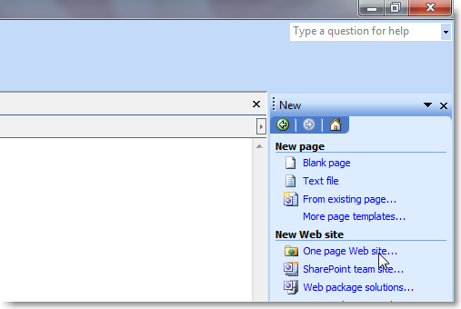 Cara bikin website pakai frontpage