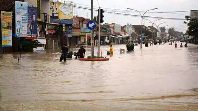 banjir pekalongan batang jawa tengah