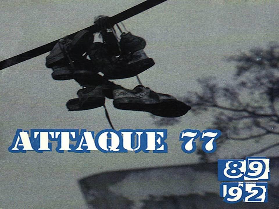 8992 Álbum De Attaque 77