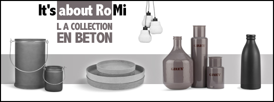 It's about Romi - La collection qui a du béton