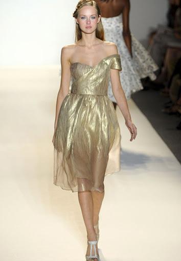 Коктейлна рокля в прозрачно и златно
