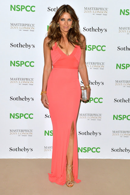 Actress @ Elizabeth Hurley - NSPCC fundraiser in London