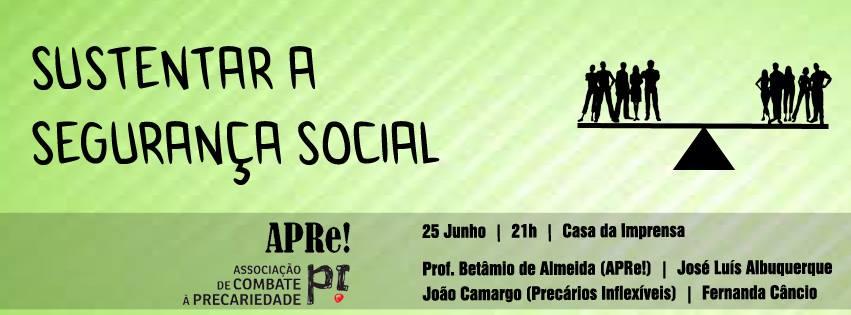 "Lisboa, debate público ""Sustentar a Segurança Social"""