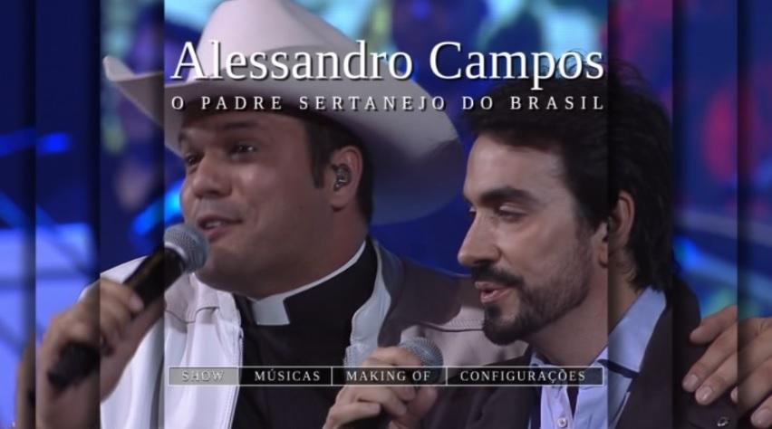 Padre Alessandro Campos Quando Deus Quer, Ninguém Segura Ao Vivo DVD-R 1
