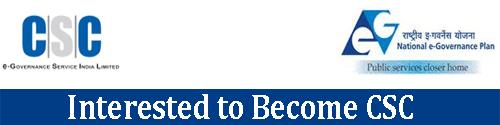 New CSC Registration