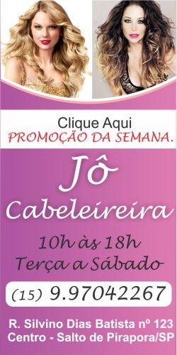 JÔ CABELEIREIRA SALTO DE PIRAPORA