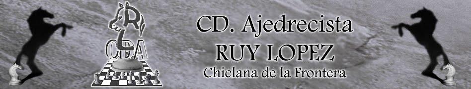 CD AJEDRECISTA RUY LOPEZ