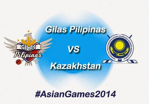 Gilas Pilipinas vs Kazakhstan Game Results, Highlights & Video