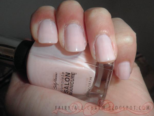 FAIRYTALE CHARM: Sally Hansen Complete Salon Manicure ...