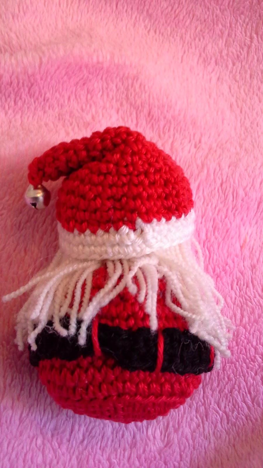 Las cosas de carocha adornos navide os en crochet - Adornos navidenos crochet ...