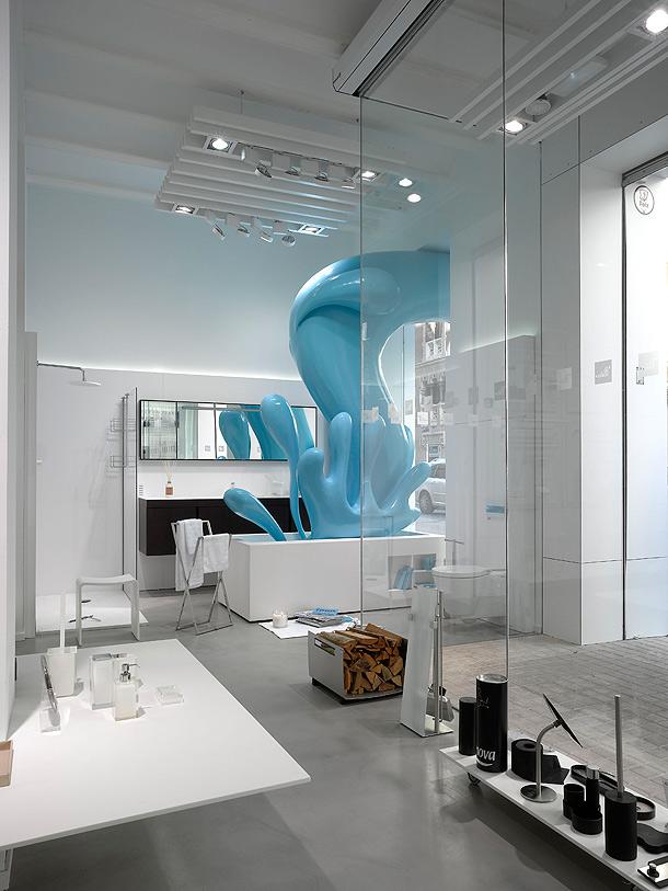 Marzua: showroom el picaporte en valencia, por hernández arquitectos