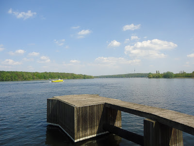 Lake view from the beer garden, Potsdam, Germany