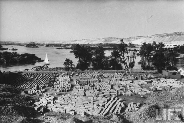 El traslado de los templos de Abu Simbel