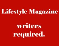 Lifestyle Magazine writer required