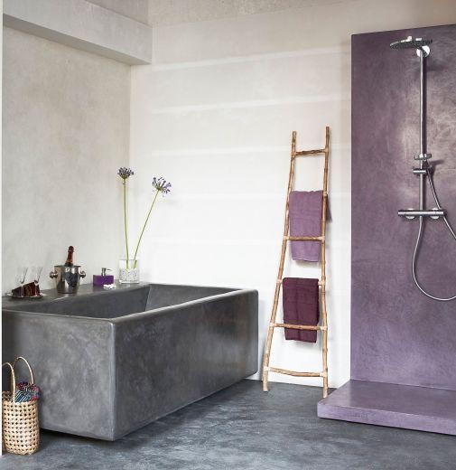 Sisustuslaasti kylpyhuone