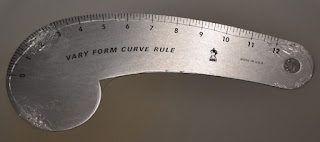 Fairgate Designer Vary Form Curve 12 Ruler