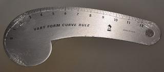 Fairgate Designer Vary Form Curve 12 Ruler