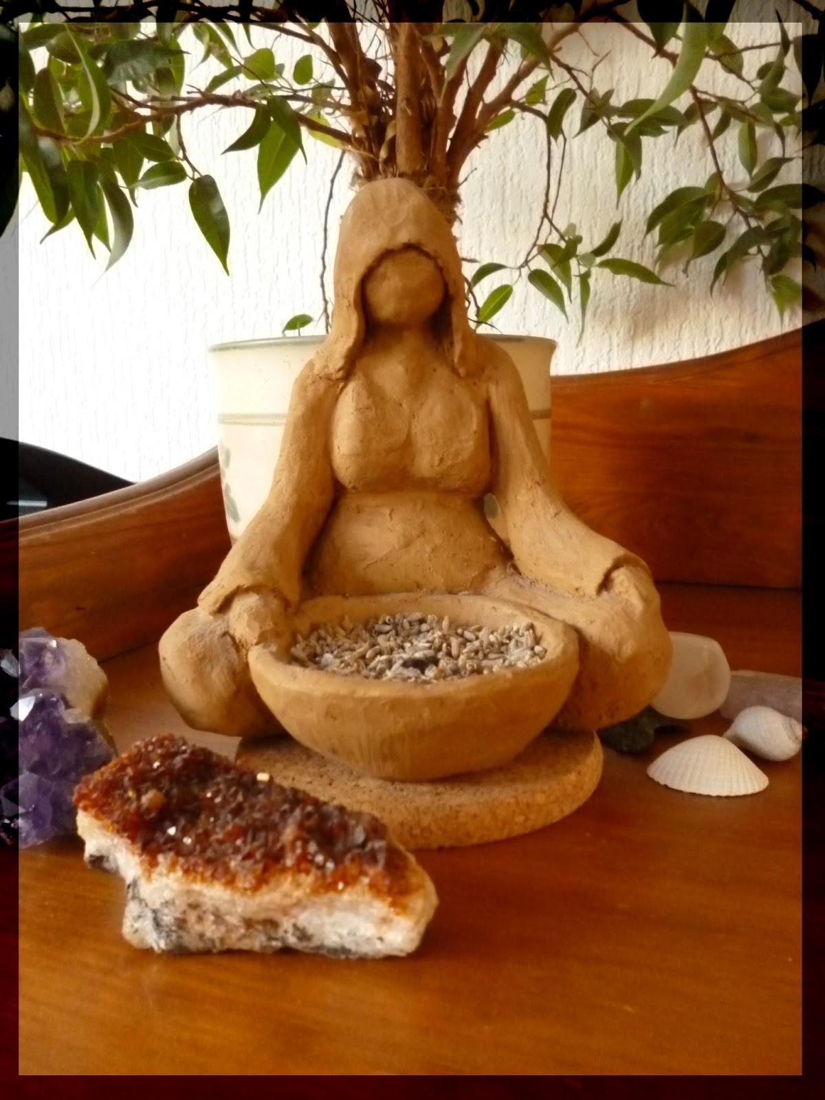 earth goddess clay