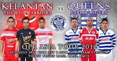 Kelantan vs Queens Park Rangers (QPR) 20 Julai 2012