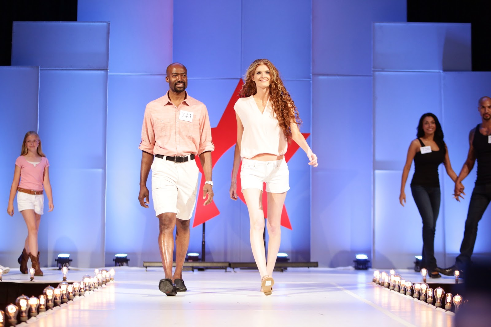 A.M.T.C. Wladimir and Elyssa at AMTC Family runway 2013