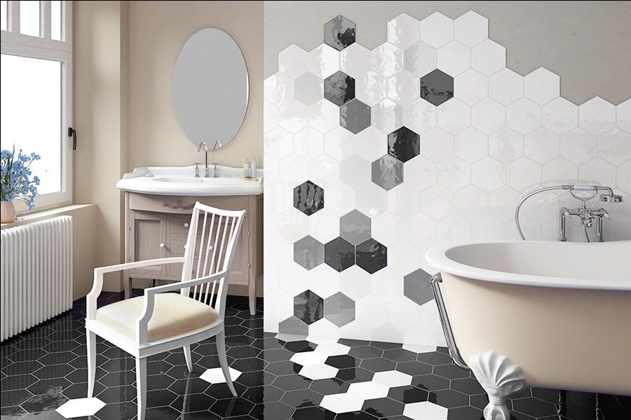 Blog dla ludzi z wn trzem p ytki heksagonalne - Salle de bain carreaux de ciment ...