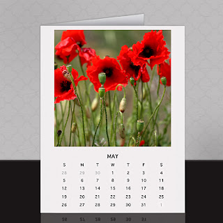 ScrapSimple Calendar Templates: 4x6 Photo Printables 2013 by Katherine Weaver